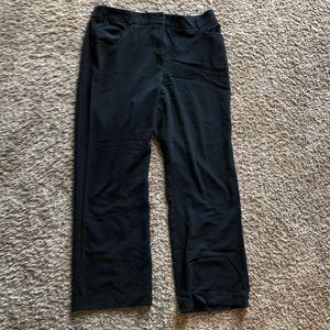 DressBarn - Black Straight Leg Dress Pants